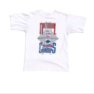 Other - Vintage 1992 Atlanta Braves T-Shirt